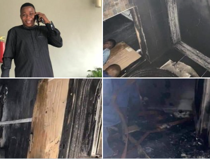 """""""The worth of what was destroyed at my house cannot be less than N50 million"""" - Sunday Igboho speaks on his razed house"""
