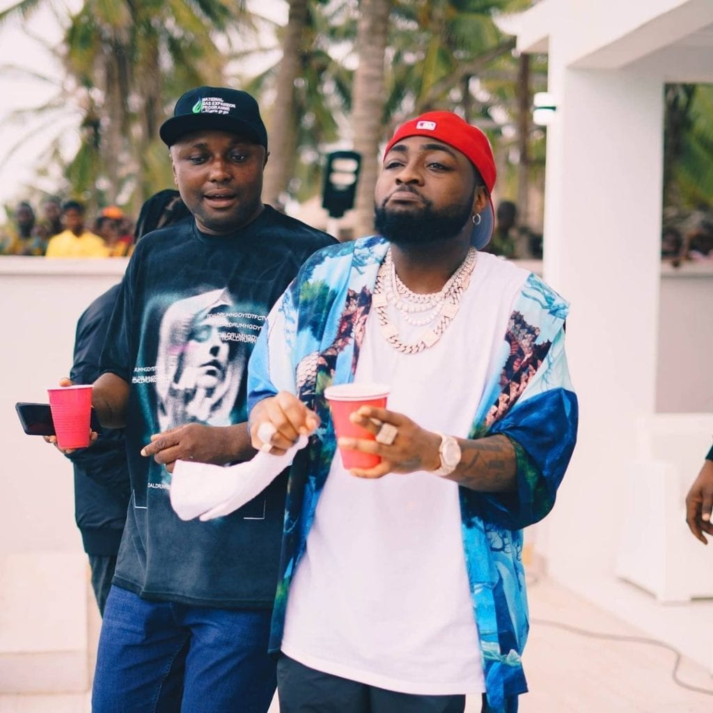 Davido's aide, Isreal DMW allegedly suspended over comments on Abba Kyari's case